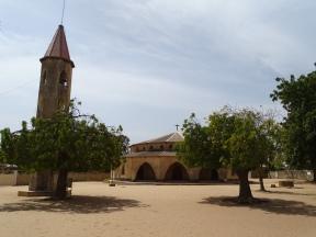 L'eglise chretienne et son clocher séparé