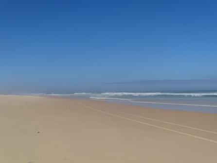 Quelques 250 km de plages désertes de Dakar à St Louis...